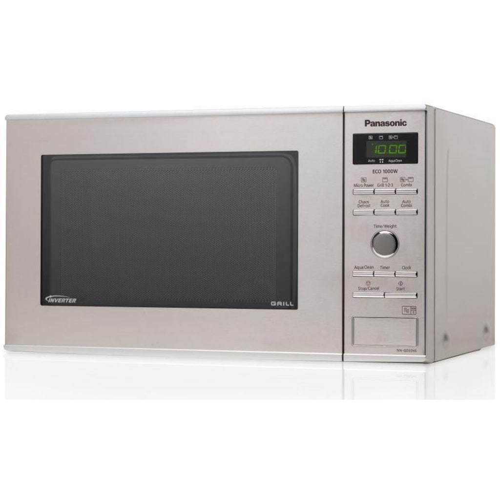 Panasonic Mikrowelle »NN-GD37HSGTG«, Grill, 1000 W