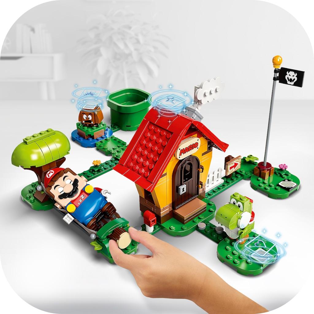 LEGO® Konstruktionsspielsteine »Marios Haus und Yoshi – Erweiterungsset (71367), LEGO® Super Mario«, (205 St.), Made in Europe