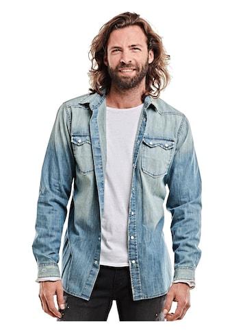 emilio adani lässiges Jeanshemd kaufen