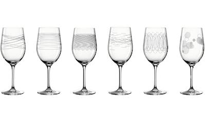LEONARDO Rotweinglas »Casella«, (Set, 6 tlg.), 430 ml, 6-teilig kaufen