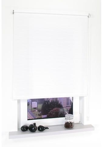 Liedeco Seitenzugrollo »Dekor Faden«, Lichtschutz, ohne Bohren kaufen