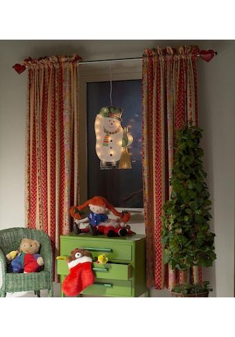 KONSTSMIDE LED Fensterbild, LED-Modul, 1 St., Warmweiß, LED Fensterbild, Schneemann,... kaufen