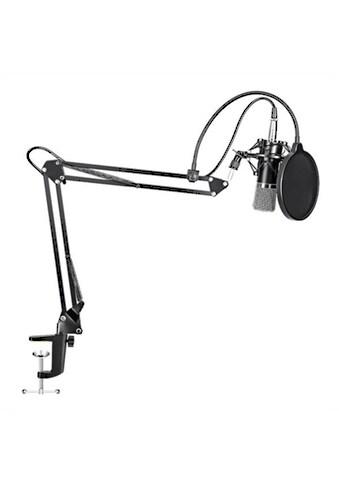 DELTACO Mikrofon »Podcast Mikrofon Set«, Boom Arm Kit Streaming Gaming kaufen