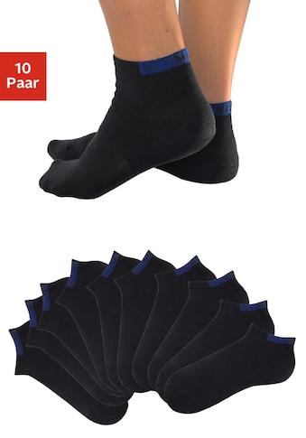 H.I.S Sneakersocken, (10 Paar), mit verstärkten Belastungszonen kaufen