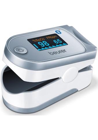 BEURER Pulsoximeter »PO 60«, innovative Vernetzung zwischen Smartphone und Pulsoximeter kaufen