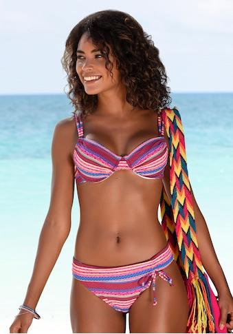 Buffalo Bikini-Hose »Lux«, mit Umschlagbund kaufen