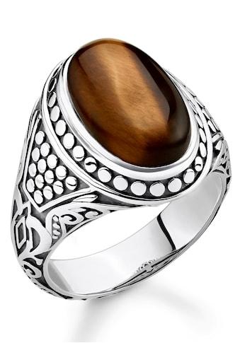 THOMAS SABO Silberring »Braun, TR2241-826-2-50, 52, 54, 56, 58, 60, 62, 64, 66, 68«,... kaufen