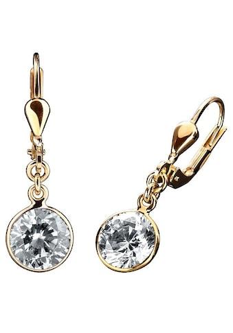 Firetti Paar Ohrhänger »Solitär-Optik«, mit Zirkonia kaufen