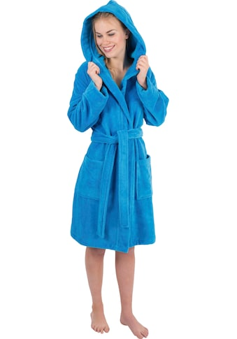 Wewo fashion Damenbademantel »6110«, in moderner Kurzform kaufen