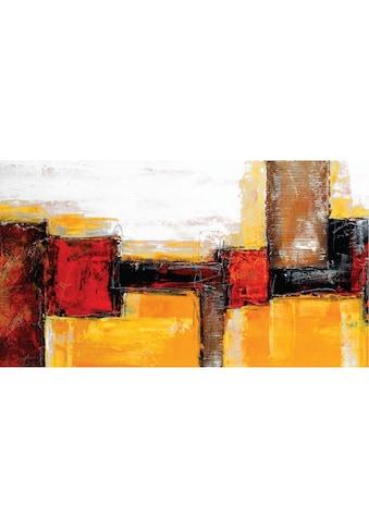 Home affaire Leinwandbild »Abstract«, 110/60 cm kaufen