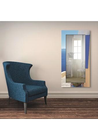 Artland Wandspiegel »Treppen ins Blaue hinein«, gerahmter Ganzkörperspiegel mit... kaufen