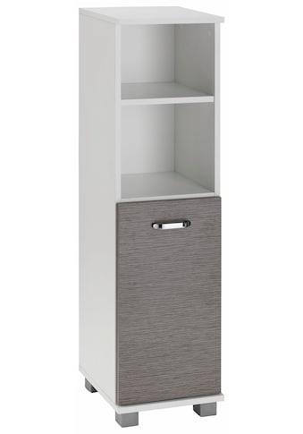 Schildmeyer Midischrank »Java«, Breite 30 cm, mit 1 Tür, 2 offene Fächer & Metallgriffen kaufen