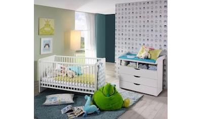Babymöbel-Set »Bristol«, (Spar-Set, 2 tlg.), Bett + Wickelkommode kaufen