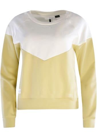 MAZINE Sweatshirt »Mina«, mit Kontrast-Design kaufen