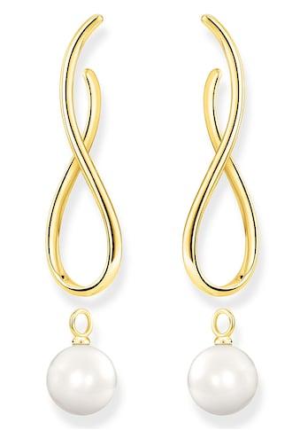 THOMAS SABO Paar Ohrstecker »Heritage mit Perle gold, H2099-413-39«, mit abnehmbaren... kaufen