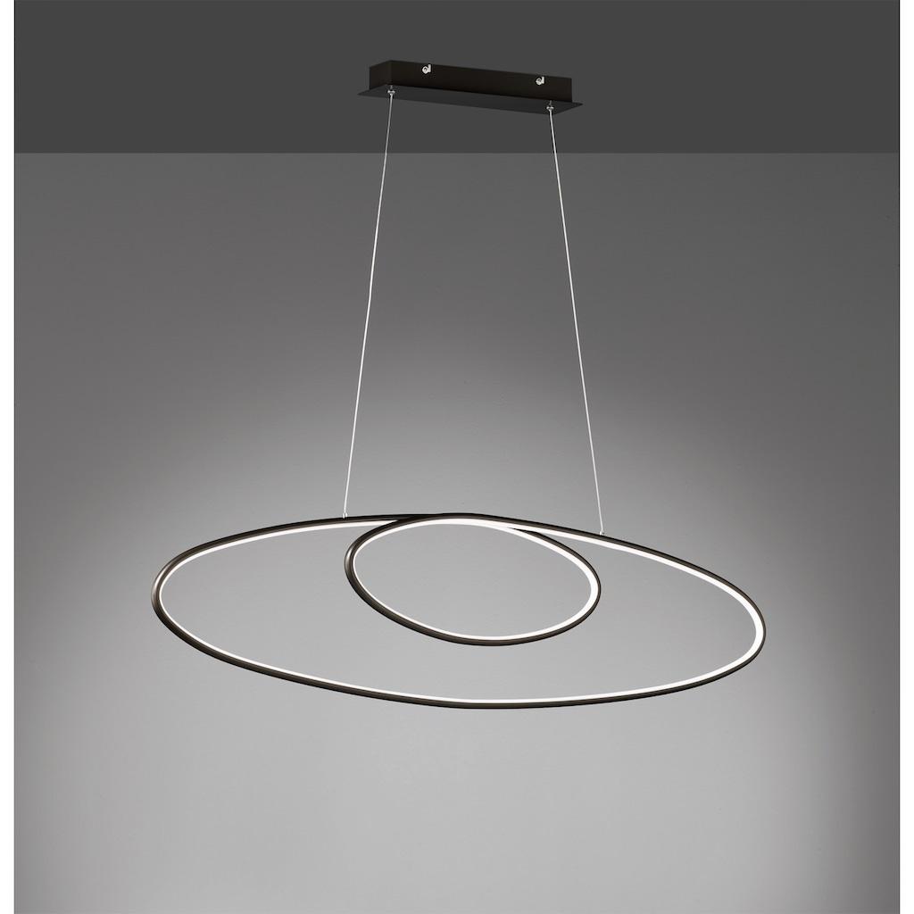 TRIO Leuchten LED Pendelleuchte »AVUS«, LED-Board, 1 St., Warmweiß, LED Hängelampe, LED Hängeleuchte