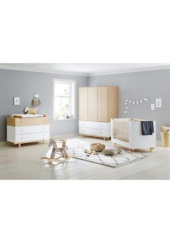 Pinolino® Babyzimmer-Komplettset »Boks«, (Set, 3 St.), 3-trg. breit groß; mit... kaufen