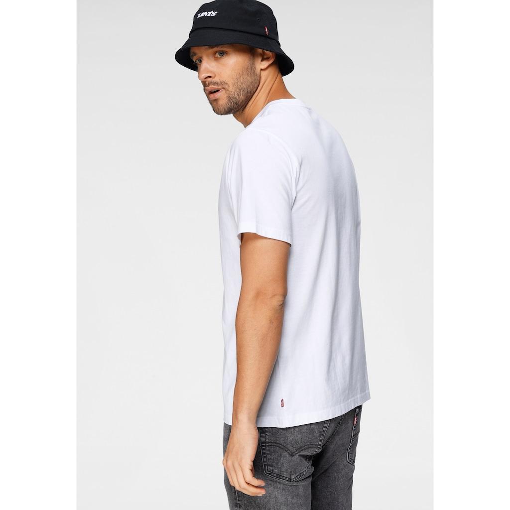 Levi's® T-Shirt, mit Logofrontprint