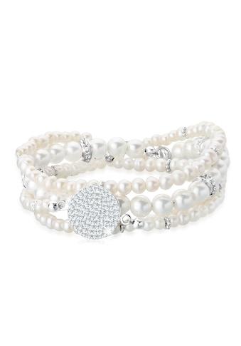 Elli Perlenarmband Set »Layering Synthetische Perlen 925 Silber« kaufen