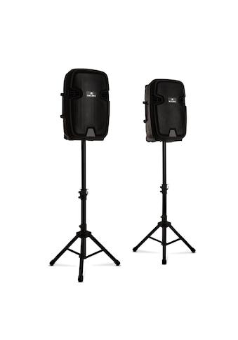 Malone PA-Lautsprecher aktiv und passiv max. 700W Bluetooth schwarz kaufen