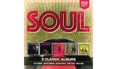 Musik-CD »5 Classic Albums: Soul / Various« kaufen