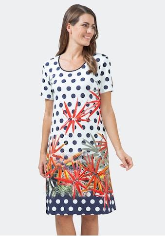 Hajo Strandkleid, mit Pünktchen- und Floralmuster kaufen