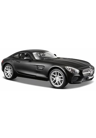 Maisto® Sammlerauto »Dull Black Collection, Mercedes AMG GT, 1:24, schwarz«, 1:24, aus... kaufen