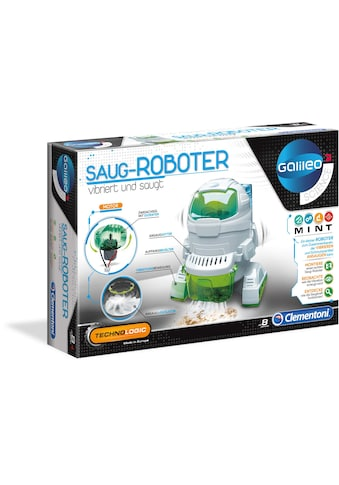 Clementoni® Experimentierkasten »Galileo - Saug-Roboter«, Made in Europe kaufen