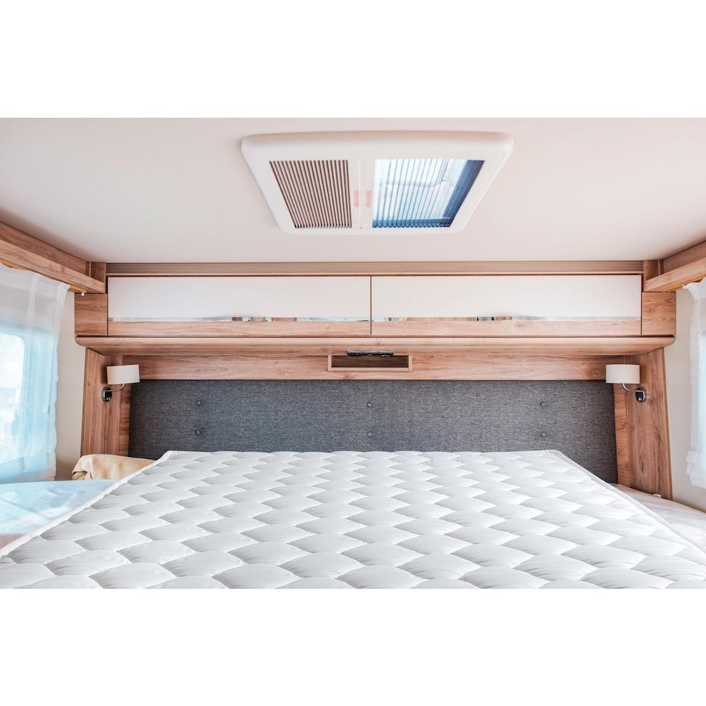 DI QUATTRO Komfortschaummatratze »Matratze Caravan«, 10 cm cm hoch, Raumgewicht: 28 kg/m³, (1 St.), Besonders geeignet für Wohnwagen und Wohnmobile, LKW-Kabinen, Ferienwohnungen und als Gästebett