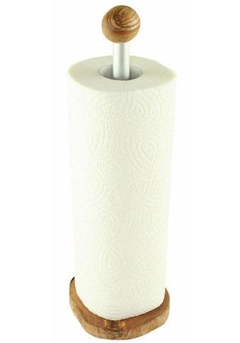 Olivenholz-erleben Küchenrollenhalter, Olivenholz, 32 cm kaufen