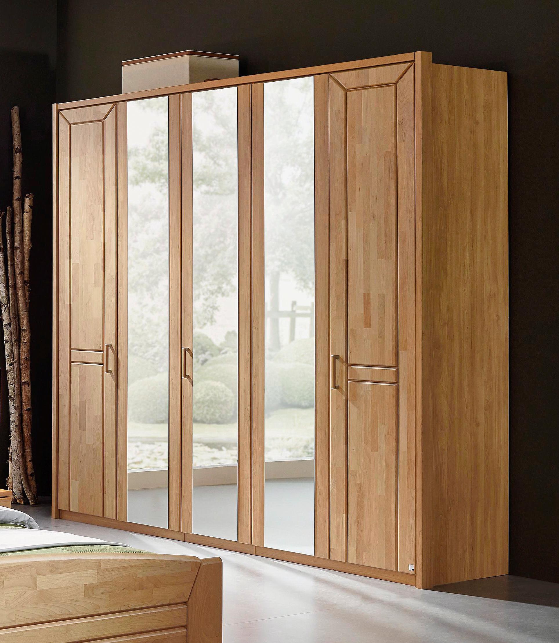 kleiderschrank buche massiv 3 t rig preisvergleich die. Black Bedroom Furniture Sets. Home Design Ideas