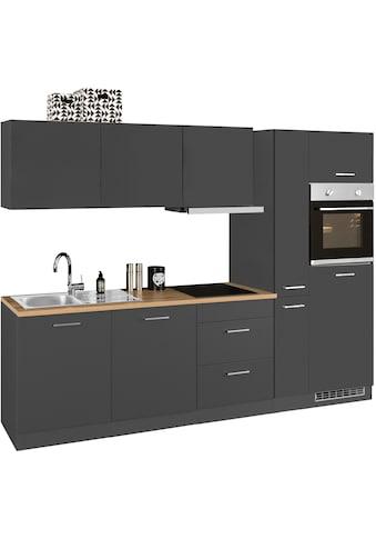 HELD MÖBEL Küchenzeile »Kehl«, mit E-Geräten, Breite 270 cm, wahlweise mit... kaufen