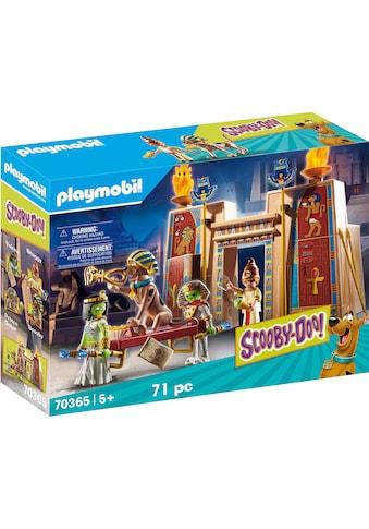 Playmobil® Konstruktions-Spielset »SCOOBY-DOO! Abenteuer in Ägypten (70365),... kaufen