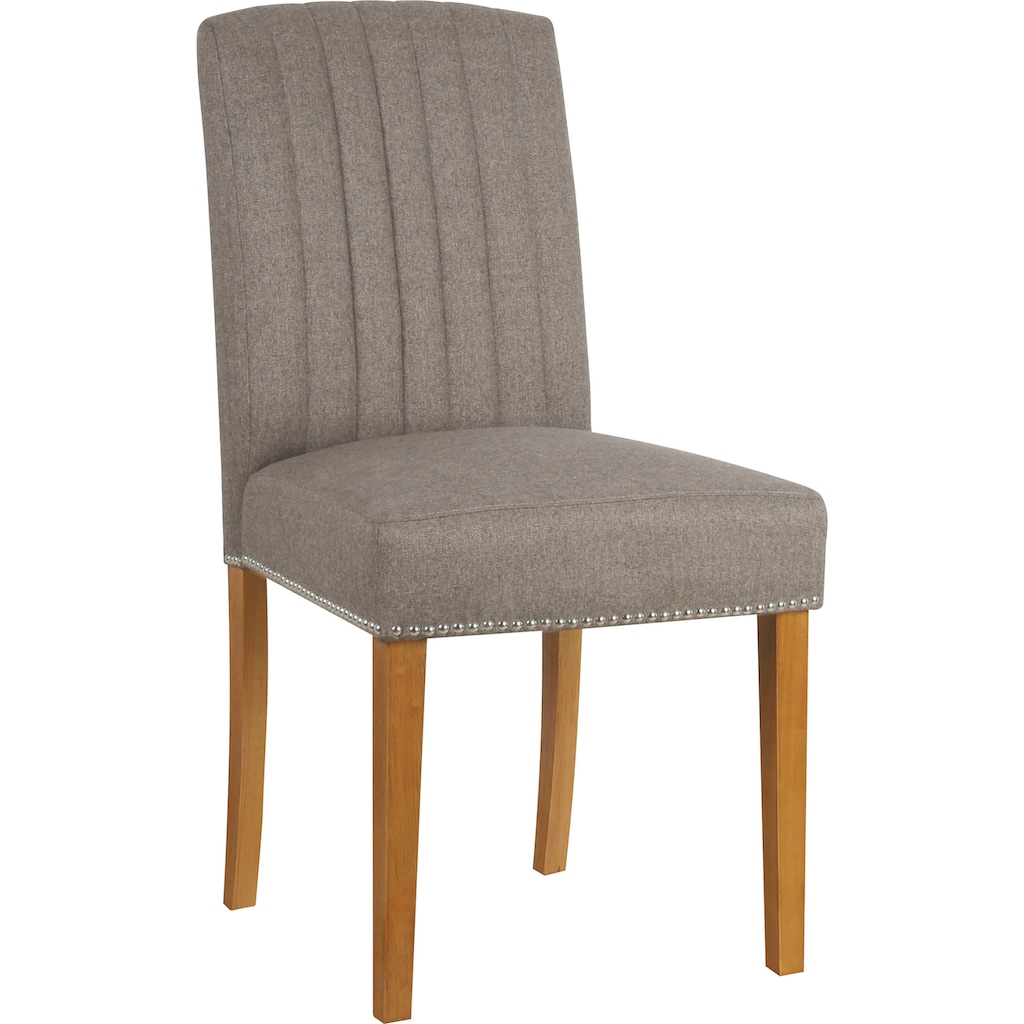 Home affaire Esszimmerstuhl »Jaik«, 2er-Set, mit gepolsteter Sitzfläche