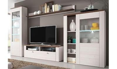 TRENDMANUFAKTUR Wohnwand »Larona« (Set, 4 - tlg) kaufen