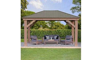 WESTMANN Holzpavillon »Devon 12x16«, BxT: 371x490 cm kaufen