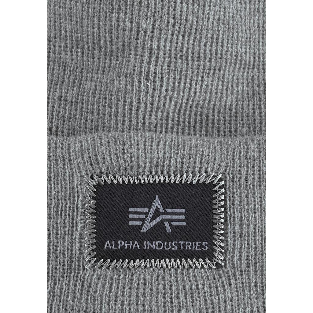 Alpha Industries Beanie »X-Fit Beanie«, Winter-Style