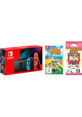 Nintendo Switch Konsolen-Set, inkl. Animal Crossing New Horizons kaufen