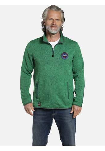 Jan Vanderstorm Fleecepullover »DAUBE«, weiches Material, Comfort Fit kaufen