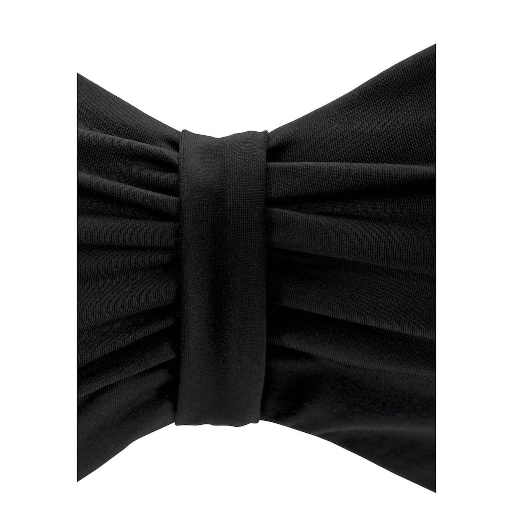 Bench. Bügel-Bandeau-Bikini-Top »Perfect«, im Uni-Style