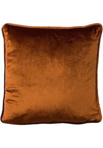Dekokissen »Samt-Kissen«, 45/45 cm, unifarben kaufen