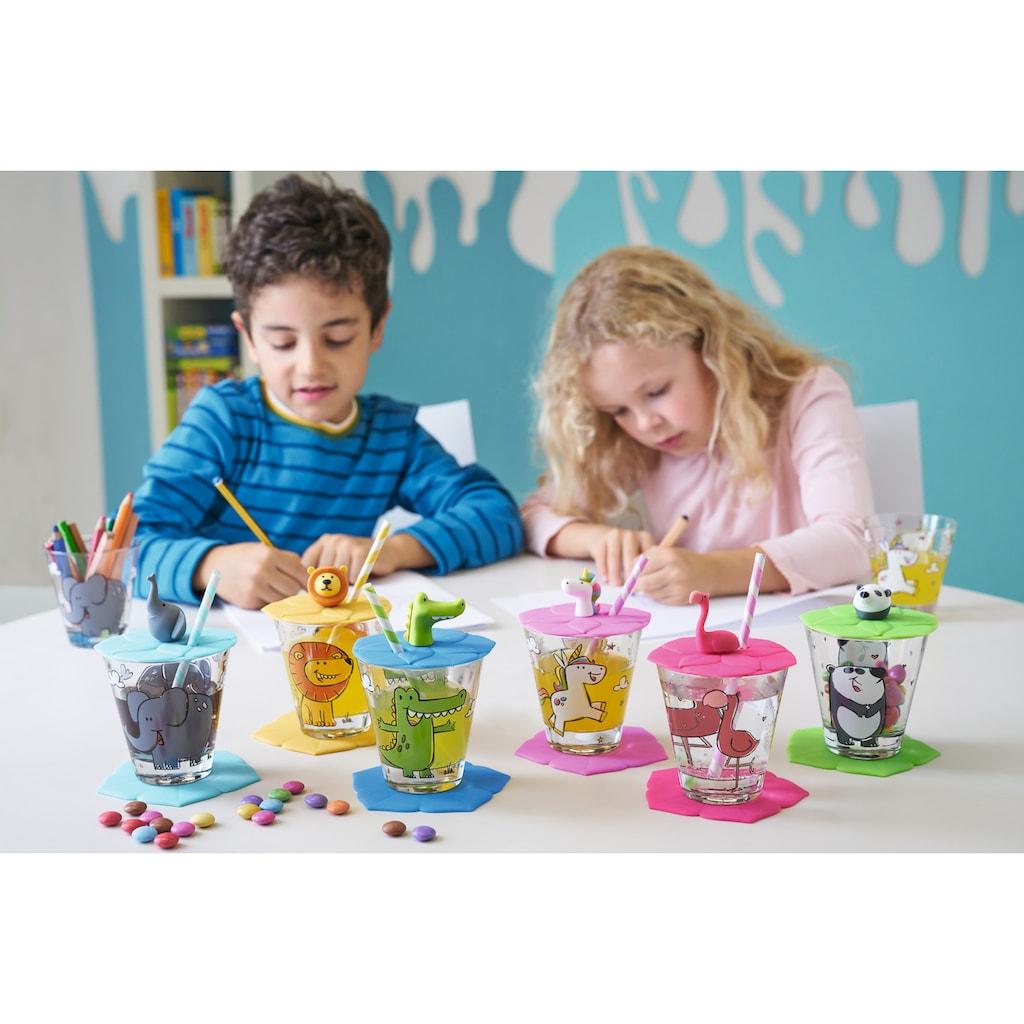 LEONARDO Kinderbecher »Bambini«, (Set, 6 tlg.), 215 ml Inhalt, 6-teilig