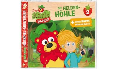 Musik-CD »Folge 2:Die Helden-Höhle / Karls Bande,Die« kaufen