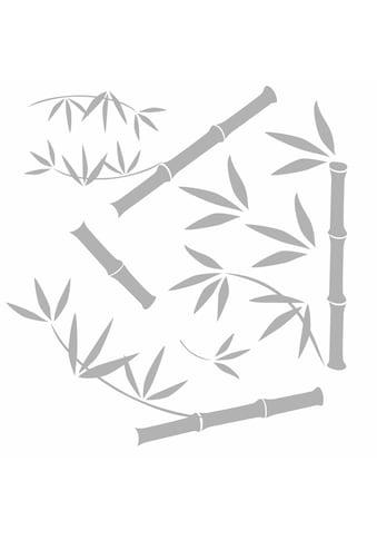 Komar Fensterbild »Bambus«, 31x31 cm, selbsthaftend kaufen