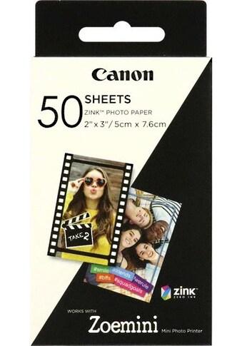 Canon Zink Druckerpapier für Zoemini ZP - 2030  -  50 Blatt kaufen