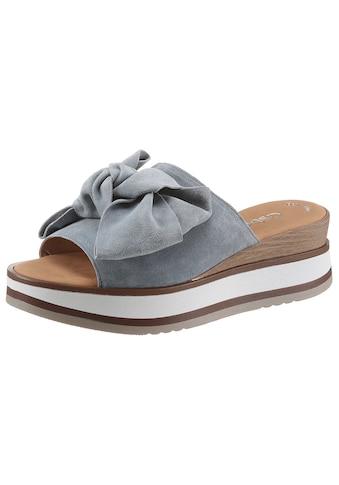 Gabor Pantolette, mit schöner Zierschleife kaufen