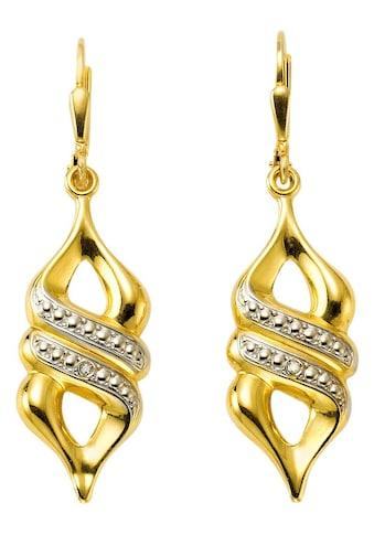 Firetti Paar Ohrhänger »Bicolor-Optik« kaufen