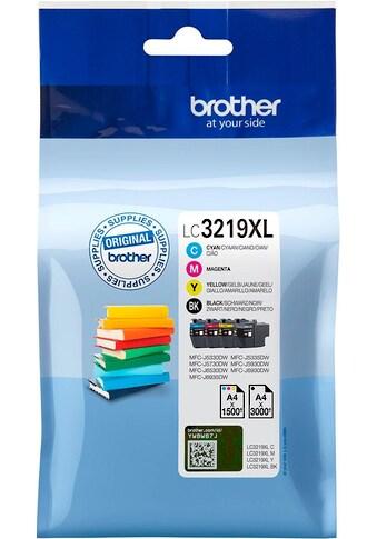 Brother Tintenpatrone »LC 3219 XL Multipack, Cyan, Gelb, Magenta, Schwarz« kaufen