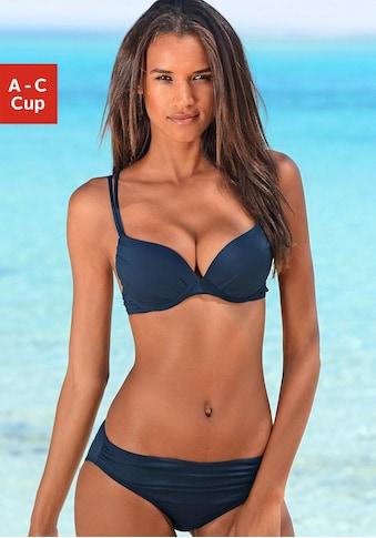 s.Oliver Beachwear Push-Up-Bikini, mit Zierring an der Hose kaufen