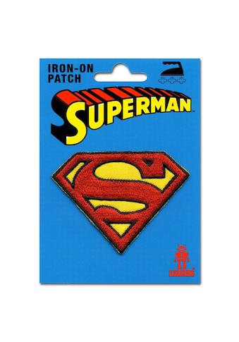 LOGOSHIRT Aufnäher mit Superman-Logo kaufen